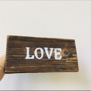 Other - Handcraft Wooden Sign